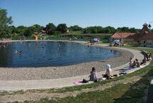 Pacséri tófürdő / Termálvizű tó a Vajdaságban