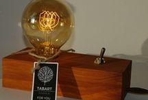 Lampki dekoracycje Tabart / Na mojej tablicy znajdziecie linie ręcznie wykonanych lamp dekoracyjnych w stylu loft.