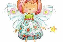 angel's and fairies / by Beverley Wolstenholme