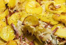 Sauerkraut Kartoffelauflauf