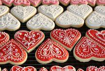 kırmızı kalp kurabiye 2
