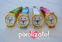 PIXELIZATE :: Pulseras y Relojes / handmade bracelets & watches Pixelizate