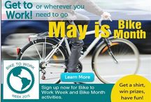 Bike to Work Week / National Bike Month is an opportunity to celebrate the unique power of the bicycle and the many reasons we ride. Whether you bike to work or school; to save money or time; to preserve your health or the environment; to explore your community or get to your destination, get involved in Greater Mercer TMA's Bike Month activities!  http://www.gmtma.org/pg-bike-to-work.php