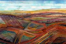 Patchwork paysages - Lansdscape quilts