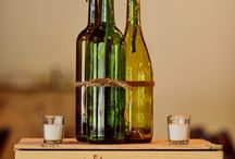 DIY Miljövänliga Bröllopsdekorationer / Använd sådant ni redan har, hör runt med familj, vänner och bekanta, låna eller fynda material second hand. [Eco-friendly Wedding Decoration Ideas.]