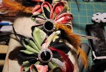 Kanzashi Folded Flowers / by Susan Serr
