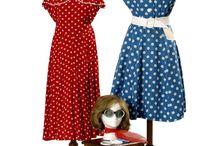 Barrandov Fundus 1950's costume samples