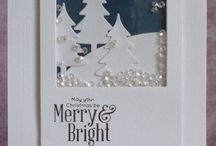 Christmas Cards / A beautiful collection of handmade Christmas cards
