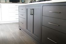 Custom Kitchen Cabinets / We design & build custom inset  cabinets for homeowners across Canada & the USA.  www.wesleyellen.ca   1.888.309.0616