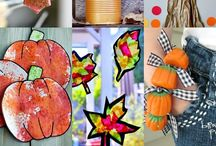 Fall into Fun / Silly and simple crafts, foods, and activities that will help you fall into autumn with kids.