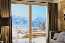 Aménagement, Décoration hôtels et résidences de tourisme / Hôtels Design montagne - Résidence de tourisme design montagne