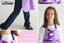 Princess aprons