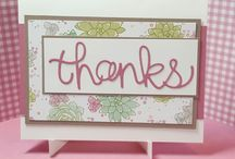 Stampin'Up! Hello You Thinlits