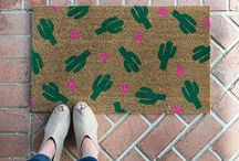 Inspired by nature - cactus / Inspirowane naturą - motyw kaktusa we wnętrzu.