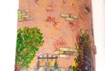 Bricks, tiles, and pavers