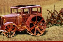 old cars / Stará autíčka
