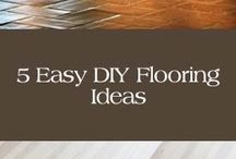DIY: Flooring and Rugs / by Carla Honaker