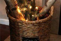 Cabin. Christmas