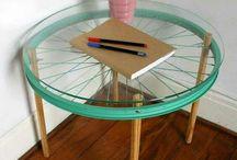 pöytä pyörästä