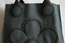 Bolsas con bordados
