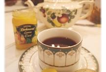 Tea time et goûter / Thé et petits gâteaux