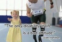 Disabilities never doubt our abilities!!!  / Everyone has #abilities and #disabilities.  Let's embrace our difference and enjoy the diversity of the world.   It would be boring to all be exactly the same.... My daughter Sara Ruh was born with #Down syndrome and she inspires me every day to change the world!!!  I am blessed!!! Please let me know if you would like to #PIN on this board. #special needs, #handicap