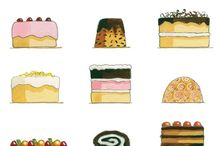 kuvitelmia / food illustrations