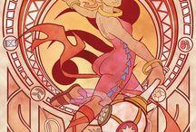 The legend of Zelda Din