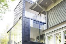 Ansley Glass House, Atlanta / The architects, of BLDGS, hopes that with its maintenance-free, corrosion resistant zinc skin, the new house will prolong the life of the century old residence by another hundred years. www.vmzinc-us.com