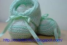 sapatinhos de bebês