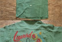 Vintage bowling shirts / by Martin Banfield