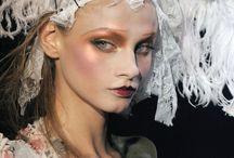 Runway Inspired Makeup Looks / A few amazing runway makeup looks that we just love!