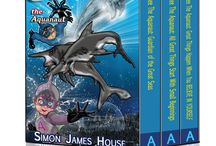 Andee Book Bundle Trilogy / The Andee the Aquanaut Trilogy book bundle, is now available on Amazon