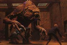 Research : Concept Art Star Wars E4-5-6