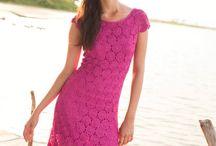 sukienka z kółek