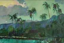 Escape artists in the tropics of North Queensland / When only paintings of the tropics will do