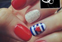 PAR PERFEITO: Unhas + Anéis / Opções para combinar a cor do esmalte ou a nail art com um anel de prata da Prata Fina.