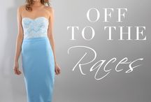 Off to the Races / Off to the races? Check out our stunning dresses and jumpsuits, perfect for that Grandstand glam look!