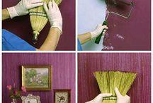 текстурирование краски