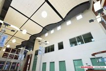 Brambier's Barrisol® Installations / Brambier's installations of Barrisol® products, both commercial and residential
