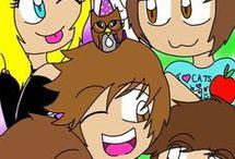 all denis best friend:sam,gent,alex,sub,corl,and denis