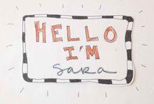 Art Journaling / Pages from my Kick Start Art Journaling e-course