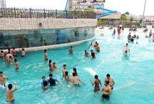 Oyester Water Park / Oyester Water park is  located in gurgaon, near Huda metro station.