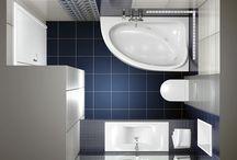 collection Joy / Πρόταση μπάνιου βασισμένη σε πλακάκια της σειράς Joy με διάσταση 20x50cm. Στο δέπεδο τοποθετήθηκε πλακάκι πορσελανάτο με διάσταση 32x32cm. www.e-bath.net