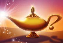 -Genie's Wishing Well- / 3 wishes, 3 pins