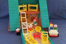 Fisher Price vintage toys