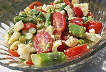 summer salads whoot! / by Myrissa Yokie