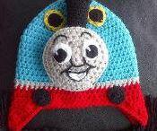 Gorros crochet / crochet hat / Gorros hechos a ganchillo / Hats makes with crochet