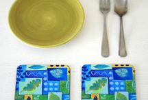 Folksy Easter Table / Decorating your Easter table with Folksy products.