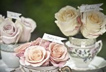Dusky Pink and Champagne Wedding / by Lorraine Manawil